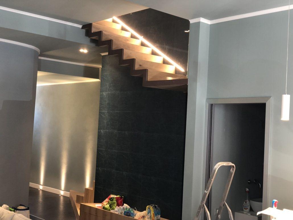 Illuminazione appartamento firenze sb lux progettazione led